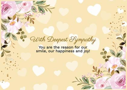 sympathy card 220 floraldesign graphics