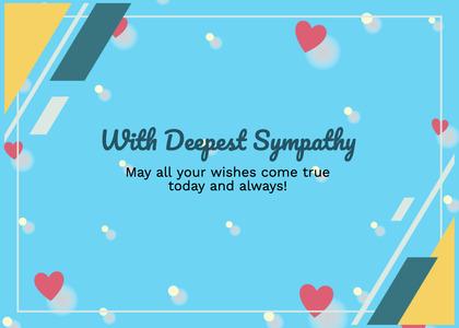 sympathy card 221 paper text