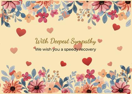 sympathy card 223 envelope mail