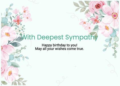 sympathy card 226 graphics art