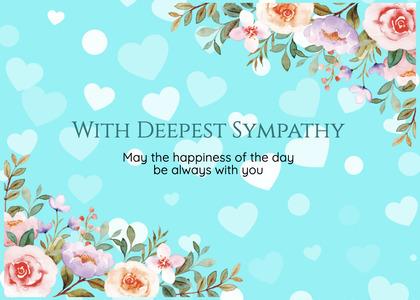 sympathy card 228 graphics art