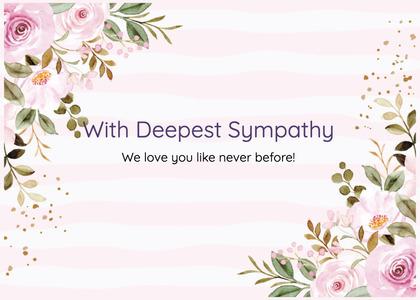 sympathy card 230 graphics art