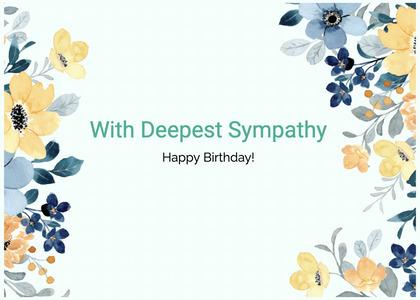 sympathy card 233 graphics art