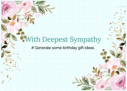 sympathy card 234 graphics art