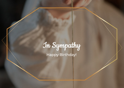 sympathy card 25 arrow symbol