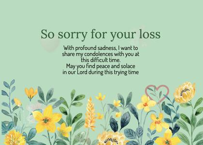 sympathy card 258 floraldesign graphics