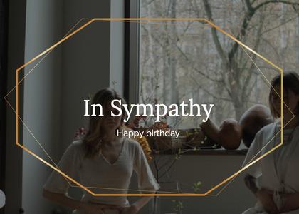 sympathy card 26 person human