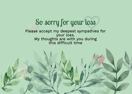 sympathy card 263 vase jar