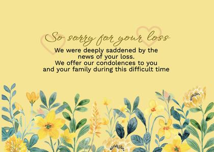 sympathy card 280 floraldesign graphics