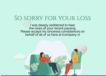 sympathy card 282 person human
