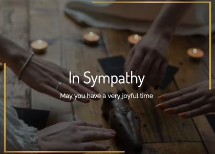 sympathy card 29 person human