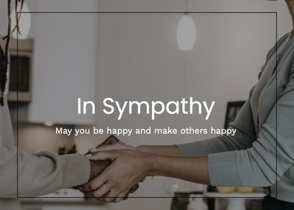 sympathy card 35 person human
