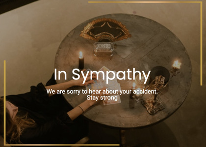 sympathy card 38 person human