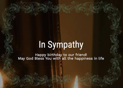 sympathy card 47 floraldesign graphics