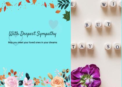 sympathy card 79 graphics art