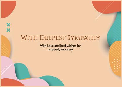 sympathy card 95 clothing apparel