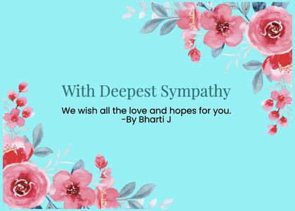 sympathy card 98 graphics art