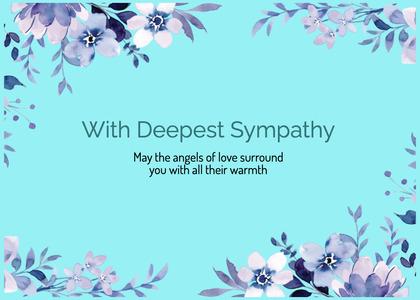 sympathy card 99 graphics art
