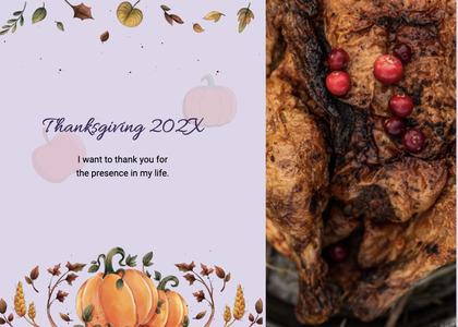thanksgiving card 106 plant food