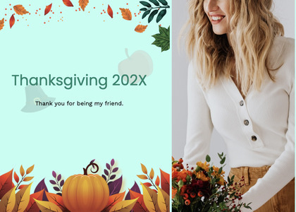 thanksgiving card 137 clothing person