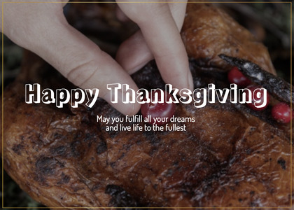 thanksgiving card 139 person human