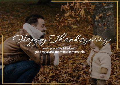 thanksgiving card 148 person human