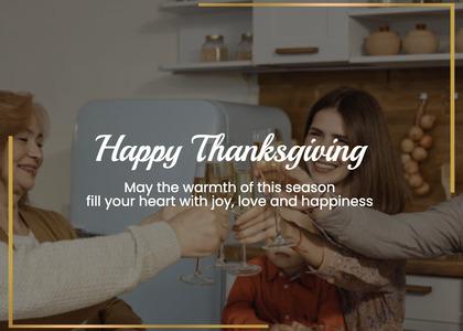 thanksgiving card 152 person human