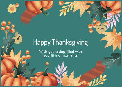 thanksgiving card 164 advertisement poster