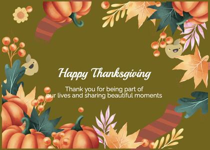 thanksgiving card 166 person human