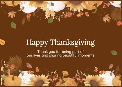 thanksgiving card 169 floraldesign graphics