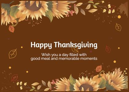 thanksgiving card 174 floraldesign graphics