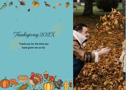 thanksgiving card 188 person human
