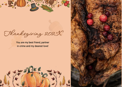 thanksgiving card 196 plant food