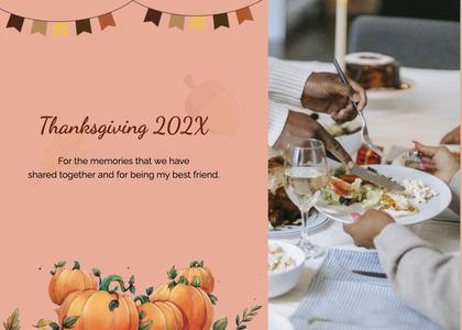 thanksgiving card 197 flyer advertisement
