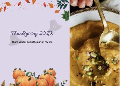 thanksgiving card 206 plant food