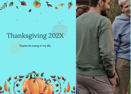 thanksgiving card 208 person human