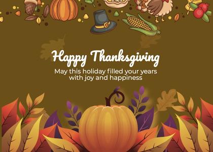 thanksgiving card 219 halloween poster