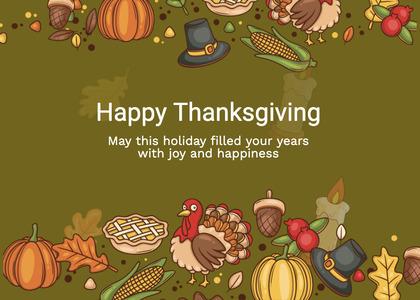 thanksgiving card 224 advertisement poster