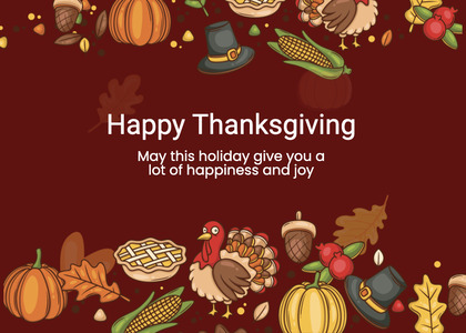 thanksgiving card 231 advertisement poster