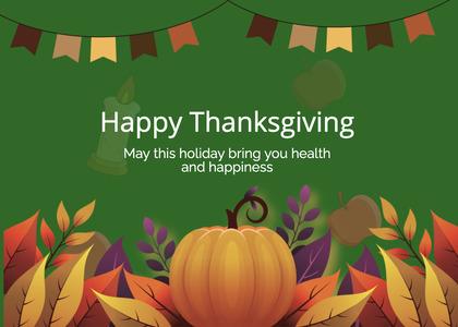 thanksgiving card 236 plant halloween