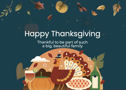 thanksgiving card 239 advertisement poster