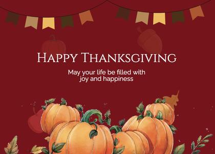 thanksgiving card 240 poster advertisement