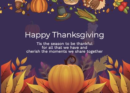 thanksgiving card 247 poster advertisement