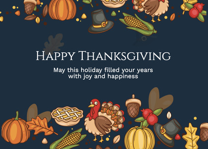 thanksgiving card 248 advertisement poster