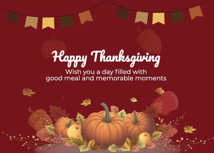 thanksgiving card 250 envelope mail