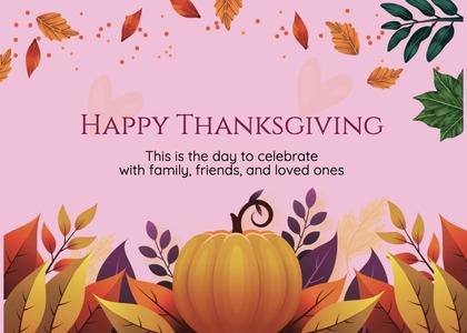 thanksgiving card 257 mail envelope
