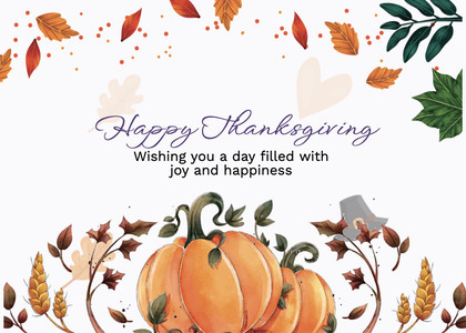 thanksgiving card 260 label text