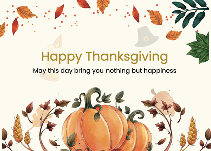 thanksgiving card 278 label text