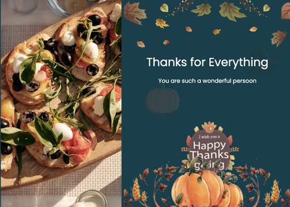 thanksgiving card 29 advertisement poster
