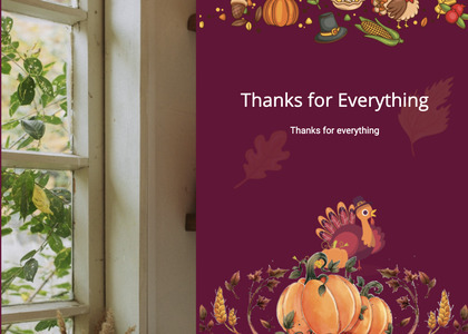 thanksgiving card 35 greeting card envelope
